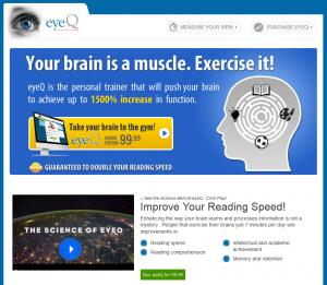 eyeQ test - Banner