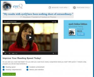 eyeQ test - Video